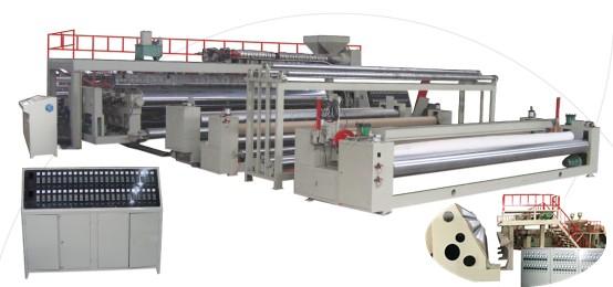 土工膜生产线(防水卷材生产线)